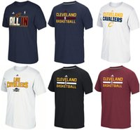 cavalier - Cavaliers T Shirts Basketball jerseys Tshirts Cleveland black brown navy white freeshipping drop shipping