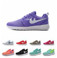b lights design - New Design Roshe Run BR Oreo Running Shoes For Women Men Lightweight Mesh Roshes Run Athletic Sport Sneakers Eur Size