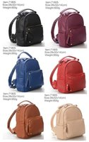 adjustable leather handbag strap - 71805 Backpacks for men and women Fashion School Bags PU Leather Double adjustable straps Women Handbags Men Bags