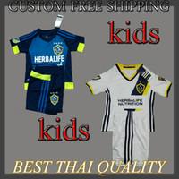 angeles kits - Whosales Discount LA Galaxy Kids Soccer Jersey La Galaxy Jerseys Custom Giovani GERRARD Soccer uniforms kit Sets Los angeles KEANE