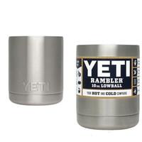 Wholesale Bilayer Stainless Steel Insulation Cup OZ YETI Rambler Tumbler Cups Beer Mug Mug Tumblerful