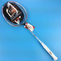 Wholesale badminton racket carbon badminton rackets fb lining carbon li ning n90 iii victor raquete raqueteira force fb bag string
