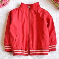 bebe designer - 2016 baby boys coat red spring brand children clothing new designer cotton kids clothes fashion Long Sleeve vetement bebe garcon