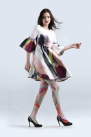 Wholesale Viken plan designer tights creative filar socks pattern stockings clot like cotton stockings