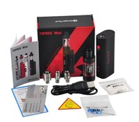 beginner electronics kit - Electronic cigarettesTopbox Mini W Kit Vapor Mini Pro Starter Kit Top Refilling Tank Watt Sub ohm Newest KangerTech Beginner Kit
