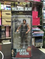 amc classic - hot sale AMC TV Series The Walking Dead Daryl Dixon PVC children toy classic cartoon toy doll Action Figure Collectible Model Toy T5257