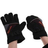 Wholesale High Quality Splicing Patterns Gloves with Full Fingers for Men