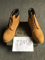 timberland boots - Authentic Brand New Unisex Classic Fashion Timberland Womens Mens Inch Premium Boots Timber Lovers Waterproof Wheat Nubuck Boots