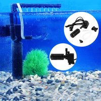 Wholesale 3 in Portable l h W Aquarium Pond Internal Filter Multi Functional Water Pump for Fish Tank Submersible NEW