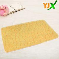 Wholesale hot sale non toxic door mat front door design dirt water absorb microfiber cotton mat