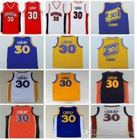 Wholesale Men Throwback Currys Jersey Davidson Wildcats College Basketball Jerseys Blue White Black Red St Jerseys