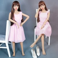 Cheap Adult products 140cm real life like sex dolls sexy mannequin dolls with standing up silicone feet