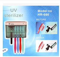 Wholesale Portable ultraviolet sterilizing toothbrush partner genuine toothbrush disinfection and sterilization device