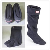 Wholesale Adults Grey Boot Socks Thermal Long Original Fleece Wellington Boots Socks Sale HIgh Quality Tall Boot Sock