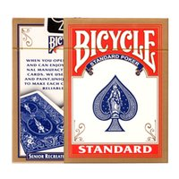 bicycle rider cards - Bicycle Rider Back Playing Cards Poker Color Random Texas Holdem cards Waterproof and dull poker star Board games