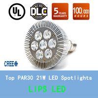 aluminium garden light - High Quality LED Light Par led Spotlight W E27 E26 Par30 led bulb Cool White Warm White Aluminium Profile Shell spotlight Lamp for home