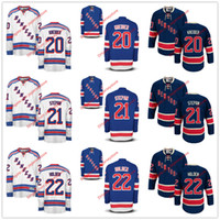 army rangers - 2016 NHL Ice Hockey New York Rangers Jerseys Chris Kreider Derek Stepan Nick Holden