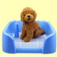 agility mats - Indoor Pet Dog Fence Toilet Training Pad Plastic Tray Mat Pet Supplies Toilet Potty Pad Urine Splash