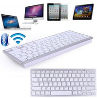 aluminum imac - Universal Aluminum Bluetooth Wireless Keyboard for IPad IPhone S S for IMac PC for Android window Mobile Smart Phone