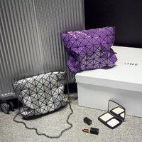Wholesale Fashion Baobao Bag Ladies Geometric Plaid Laser Women Handbag Brand Designer Tote Bag Shoulder Bag