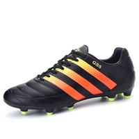 Wholesale Football Boots Cleats Soccer Shoes New FG Mens Football Cleats Boot Chuteiras Botas De Futbol Voetbalschoenen Sport Shoes Men