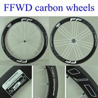 Wholesale Best Quality FFWD F5R C mm Carbon Rims With G3 Powerway R39 Hubs Black Finish White Spokes K weave