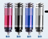 Wholesale V Mini Auto Car Fresh Air Ionic Purifier Oxygen Bar Ozone Ionizer Cleaner DHL free