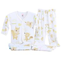 bamboo material for clothing - Bamboo Fiber Material Newborn Baby Clothing Sets Cotton Pajamas Rompers for M Newborn Infants Baby Boys Girls Kids Bodysuit pieces