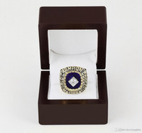 angeles anniversary gifts - WITH WOOD BOX LOS ANGELES DODGER Major League Baseball D design High quality Replica Championship ring STR0