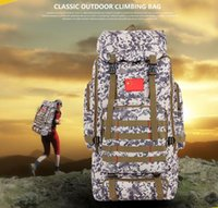 Wholesale Big capacity new fashion for men and women the large L travel tourism camouflage mountaineering backpack outside climb leisure bags
