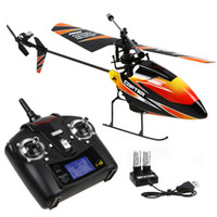 Wholesale WL Toys V911 G CH Single Blade Propellor Gyro Mini Radio RC Helicopter RC MINI Outdoor Helicopter With LCD