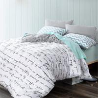 Wholesale High count density cotton Duvet covers set simple bedding set Double single duvet covers Twin Queen King size bedclothes HM4520