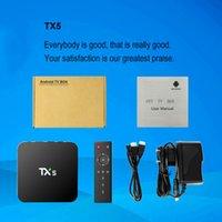 av stores - Amlogic S905X TX5 Android Marshmallow K TV Box KODI WIFI RJ AV Dolby G Google Play store G G Smart Android Set Top Box