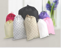 backpack types - Home outdoor storage bags Cheap non woven fabrics drawstring bags portable Drawstring Backpack underwear draw string bag