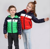 Wholesale Children s down jacket boys and girls casual dress down jacket down jacket