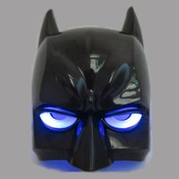 baby face film - Light Juguetes Avengers Batman Mask Helmet Cosplay Model Plastic Party Brinquedos Action Figure Baby Kids Toys
