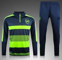 arsenal training shirt - Top Thai quality Arsenal Blue jerseys tracksuit Football Shirt Training Suit soccer Jacket