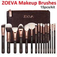 Wholesale NEW ZOEVA Brushes Makeup piece Professional Brushes Kit Foundation Brush Rose Golden Make up Set face cosmetics Brush Eyeshadow brushes