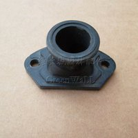 air intake boot - 2X Air intake manifold for Zenoah G4500 G5200 cc cc Saw rubber boot carb joint holder insulator intake adpter