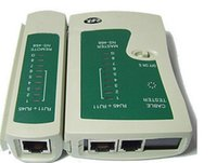 Wholesale RJ45 and RJ11 Network Cable Tester Practical Cable Testing Instrument Quickly and Easily Checks Network Cables