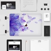 Wholesale Fantasy purple flower Laptop Skin Decals for Macbook macbook sticker macbook decals