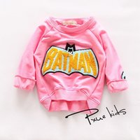 batman hoodie for kids - New girls Sweatshirts Batman Clothes Children s Hoodies For Boys Cartoon Casual Kids Hoodies Boys Girls Tops Costume