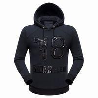 Wholesale New arrive Hip Hop Tide brand Mens Hoodie sporty Style Men Casual Hoodie Jacket P7005 M XXXL
