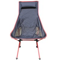 Wholesale Outdoor Lengthen Portable Lightweight Folding Camping Stool Chair Seat for Fishing Festival Picnic BBQ Beach With Bag New Design