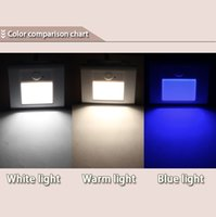 Wholesale LED Sense Light Induction Lamp Closet Cabinet Light White