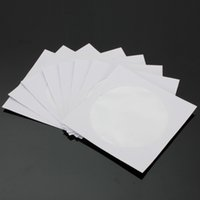 cd wallet - 50pcs CD DVD Disc Clear Plastic Window Flap Paper Case Sleeves Wallets With Transparent Window x12 cm