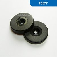 asset tags - Dia mm ABS RFID Token Tag RFID Smart Tag for asset Mangement with T5577 Chip