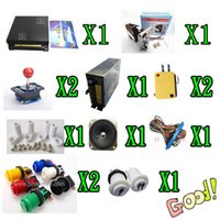 Wholesale 1 kit for in multi game board power supply speaker joystick P2P button set of part for game machine
