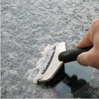 Wholesale The winter snow ice shovel eradication stainless steel shovel snow scraping shovel tool car