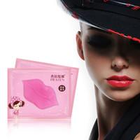 Wholesale 400pcs Pilaten Beauty Makeup Lip Plumper Collagen Crystal Lip Mask Lip Anti Aging Moisture Essence Gel Pad Patch Wrinkles Lips Enhancer